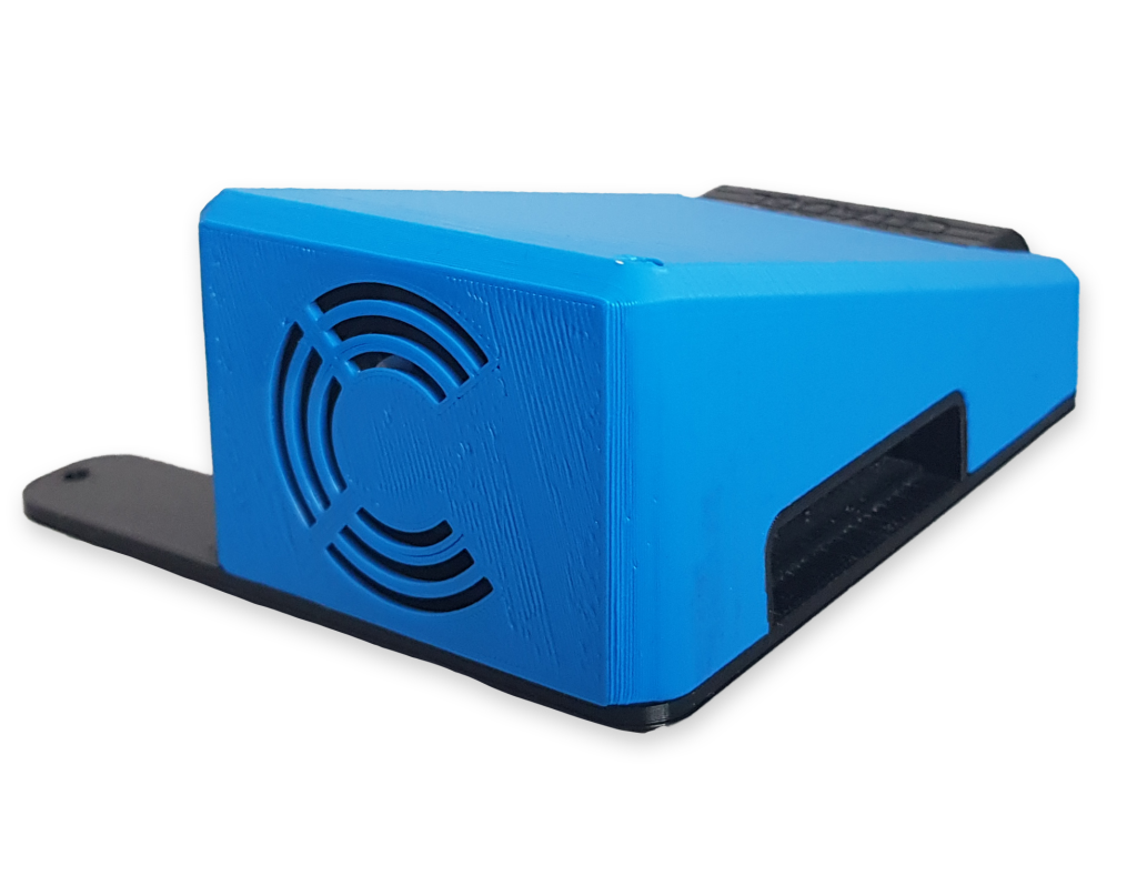 Citadel Connect product overview with blue casing.